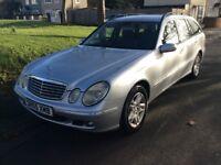 Mercedes E220 CDI Elegance estate.