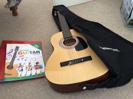 Guitar and book