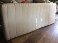 Ikea single narrow mattress topper excellent condition 80cm PERFECT FOR UNIVERSITY BEDS
