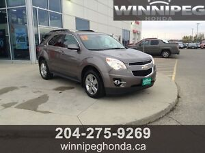 2012 Chevrolet Equinox 2LT AWD. One owner, Local trade, 4 cyl e