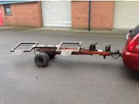 Mobi jacks dolly tow boy spec transporter trailer