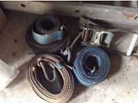Heavy duty Ratchet /tow hooks and straps