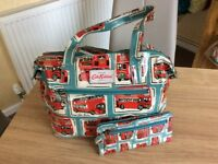 Cath Kidston London Bus Design Bag & Purse.