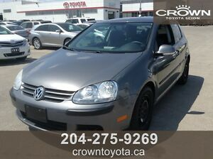 SAFETIED! AS IS/AS TRADED 2008 VOLKSWAGEN RABBIT 2.5L 5CYL COUP