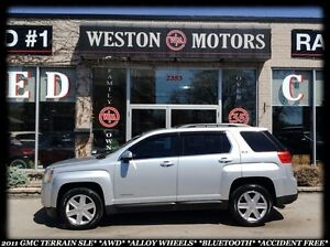 2011 GMC Terrain SLE*AWD*ALLOY WHEELS*BLUETOOTH*ACCIDENT FREE*