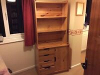 Piece of pine furniture suitable for a child`s bedroom.