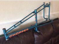 Raleigh chopper mk2 frame for sale.