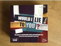 Like New 'Would I Lie To You' Board Game £10