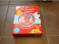 Disney read-along books with CD