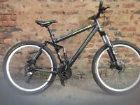 Carrera bansheeX men's full suspension mountain bike, in good order
