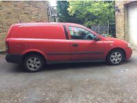 Vauxhall astravan automatic crew cab diesel 1.7