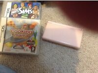 Pink Nintendo DS, 2 games