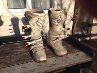Wolf Pro Motocross boots.