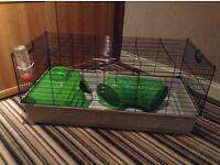 Pet cage suitable for Indoor rabbit, hamster, guinea pig etc.