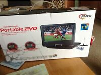 Potable Led TV/DVD