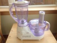 Hinari Lifestyle FBP3 1.5L Combi Food Processor with Blender and Accessories