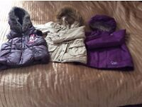Kids coats 5-6 year