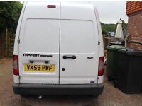 Ford transit connect 2009 good condition.