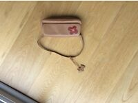 Radley leather handbag, natural colour.