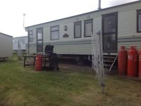 STATIC CARAVAN FOR RENT LATE DATE BEST PRICE SAT23/9/17 7 NTS £250 AT DEVON CLIFFS EXMOUTH IN DEVON