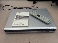 Sony DVD recorder.