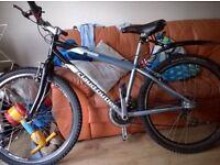 claude butler oracle 21 gear mountain bike