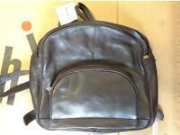 Genuine Italian leather bouvier bag