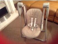 Graco baby swing /rocker chair