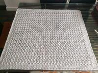 Crocheted Baby Blanket or Lapghan