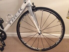 Trek Madone 4.7 carbon road bike 56cm with wheel upgrade