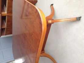 Beautiful Yew Wood Table