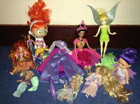 Tinkerbell, Jasmine & friends
