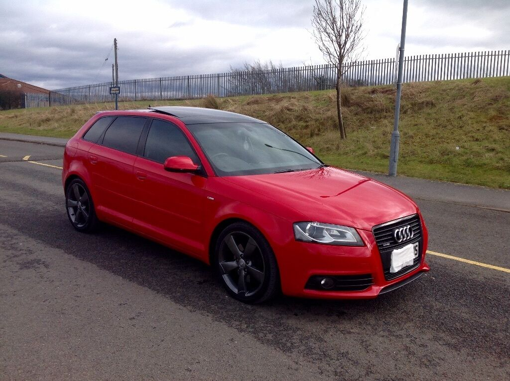 audi a3 s line black edition quattro 2 0 tdi 170 sportback in shotts north lanarkshire gumtree. Black Bedroom Furniture Sets. Home Design Ideas