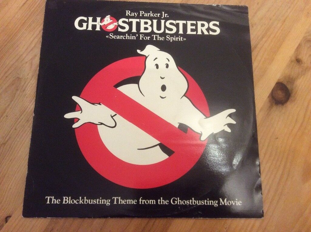 Ghost buster film tracks LP
