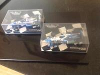 Boxed Mini Champs Racing Cars.