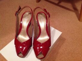 Red Gabor shoes