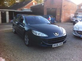 Peugeot 407 2.2 S 2dr, STUNNING, P/X TO CLEAR BARGAIN £1695