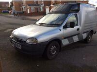 Vauxhall combo gls dual fuel lpg