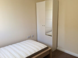Single bedroom close to Bedford Hospital, Train Station, Bus to Cranfield University & City Centre
