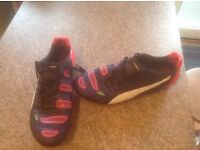 Puma evoPower 1.2 football boots. Size 9. Never been used.