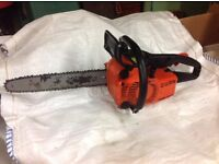 """Stihl chainsaw, 14"""" blade, for spares or repair, not working"""