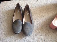 Sparkly flats size 36