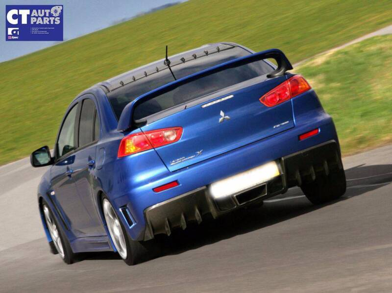 Evolution X Style Abs Rear Trunk Wing Spoiler Evo Mitsubishi Other