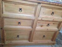 Chunky chest of drawers