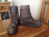 Combat UK leather Patrol Boot