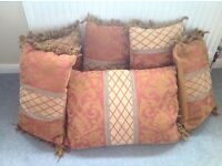 Set of Seven Scatter Cushions