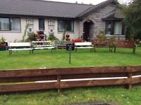 Handmade Garden Benches for Sales - Prices range from £50 up to £130