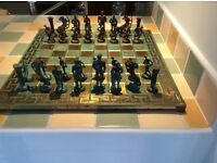 Greco Roman Chess Set