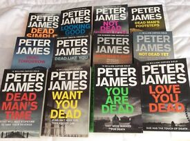 Peter James, Detective Superintendent Roy Grace Books