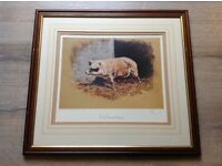 Mick Cawston, 'Pork Scratchings' Signed Limited Edition Print